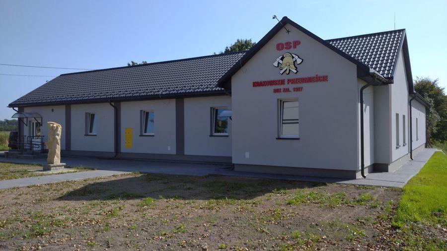 Funduszu Inwestycji Lokalnych -  OSP Krakowskie Przedmieście