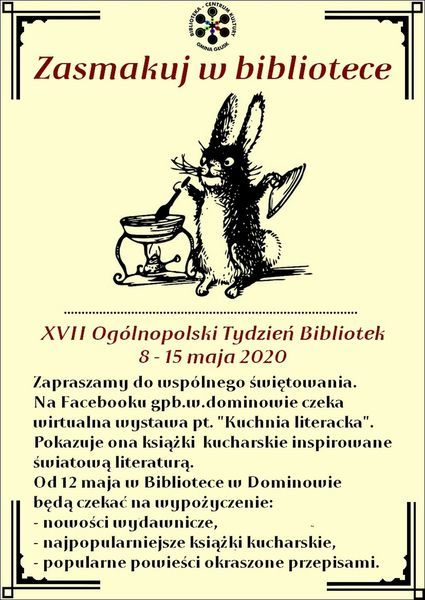 Zasmakuj w bibliotece - XVII Ogólnopolski Tydzień Bibliotek