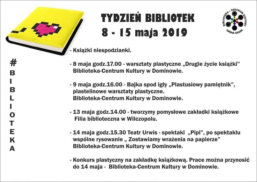#biblioteka - XVI Ogólnopolski Tydzień Bibliotek