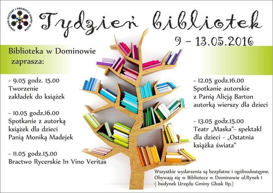 Biblioteka inspiruje - XIII Ogólnopolski Tydzień Bibliotek