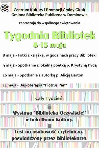 Biblioteka. Oczywiście! - XIV Ogólnopolski Tydzień Bibliotek