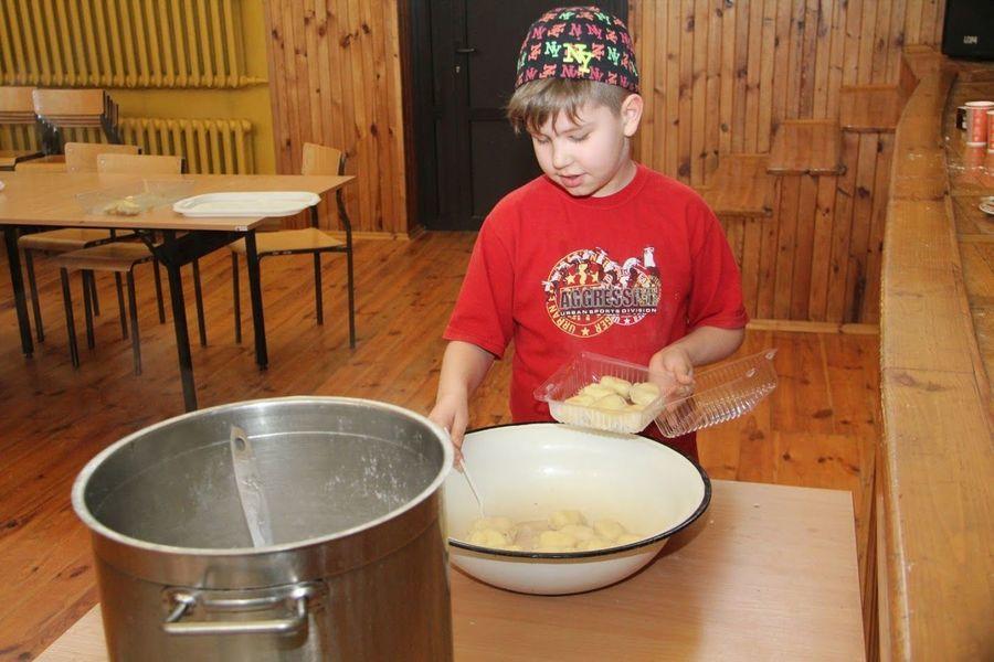 Warsztaty kulinarne w Domu Kultury w Markuszowie