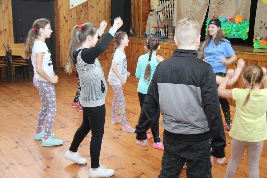 Warsztaty HIP-HOPU w Domu Kultury w Markuszowie