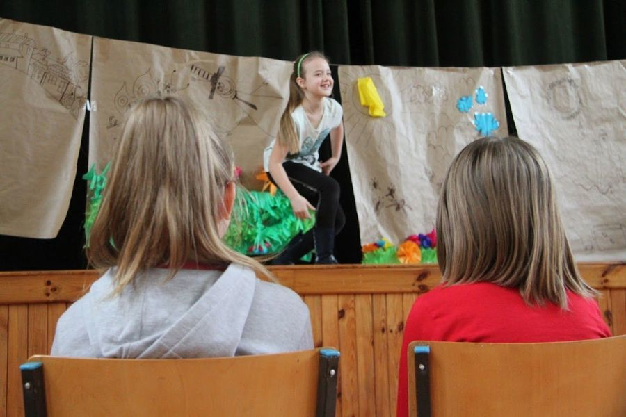 Sobotnie warsztaty teatralne w Domu Kultury w Markuszowie