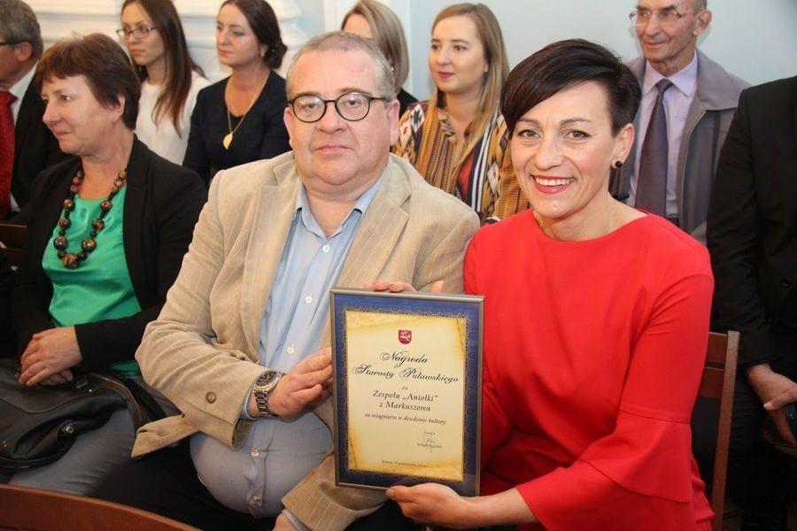 Nagroda Starosty w Dziedzinie Kultury dla scholi