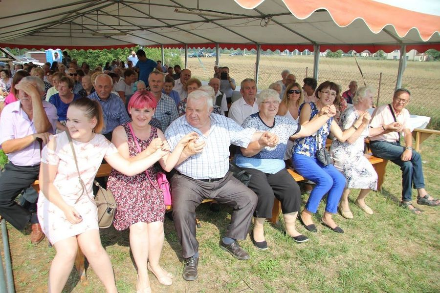 Dożynki gminno-parafialne w Wólce Kątnej