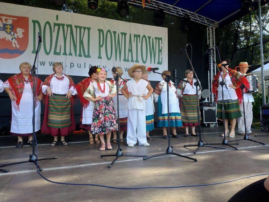 Powiatowe Dożynki w Nałęczowie