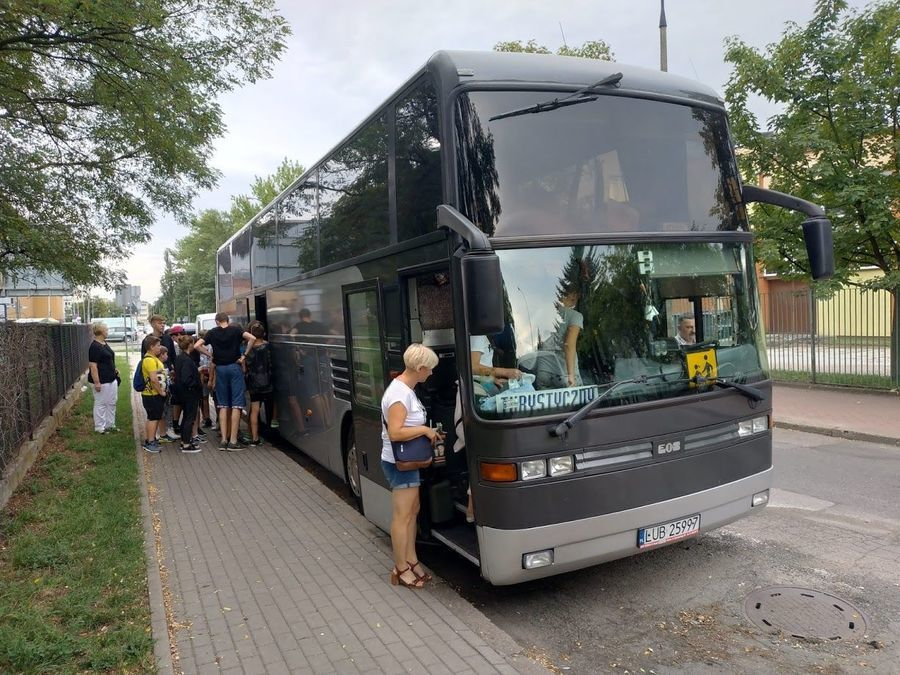 Wycieczka do Warszawy do Wodnego Parku i kina