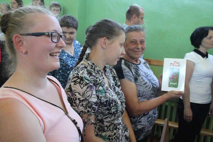 Obchody 101 rocznicy urodzin poety z Kalenia Jana Pocka - Święto Patrona Szkoły Podstawowej w Markuszowie