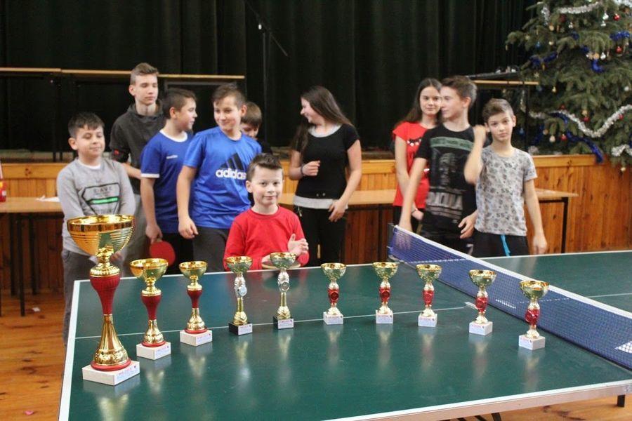 Turniej Tenisa Stołowego o Puchar Wójta Gminy Markuszów