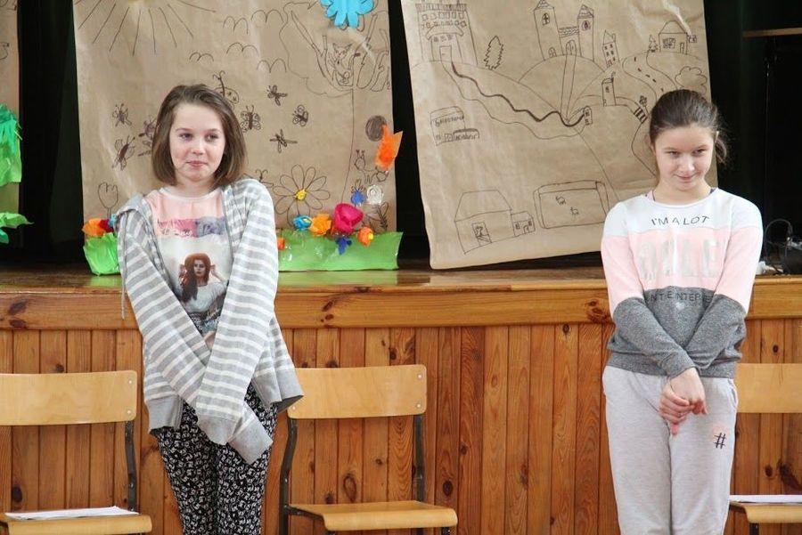 Teatralne, sobotnie warsztaty w Domu Kultury w Markuszowie