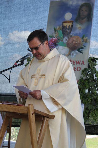Dożynki gminno-parafialne w Górach