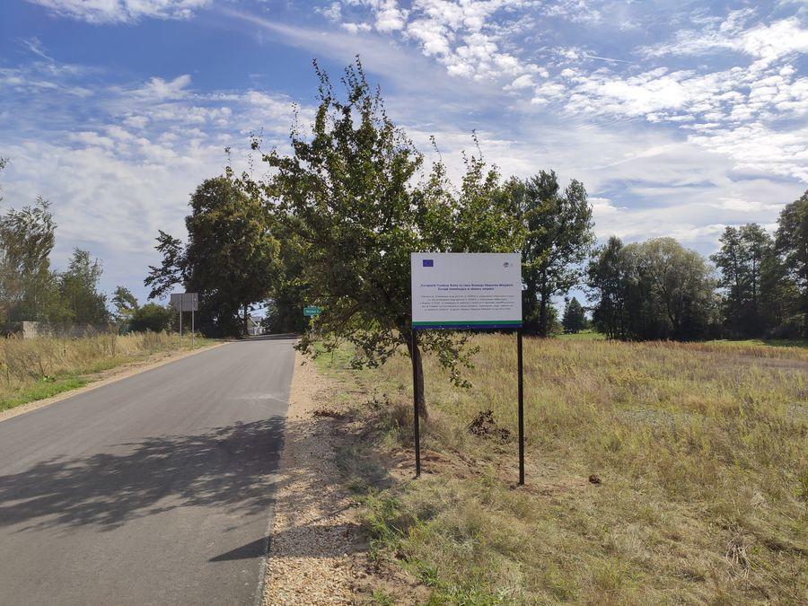 Odbiór drogi w miejscowości Wólka Kątna