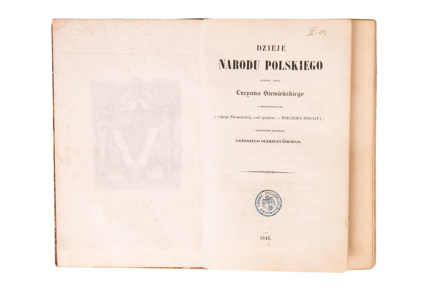 Lucyan Siemieński Dzieje Narodu Polskiego