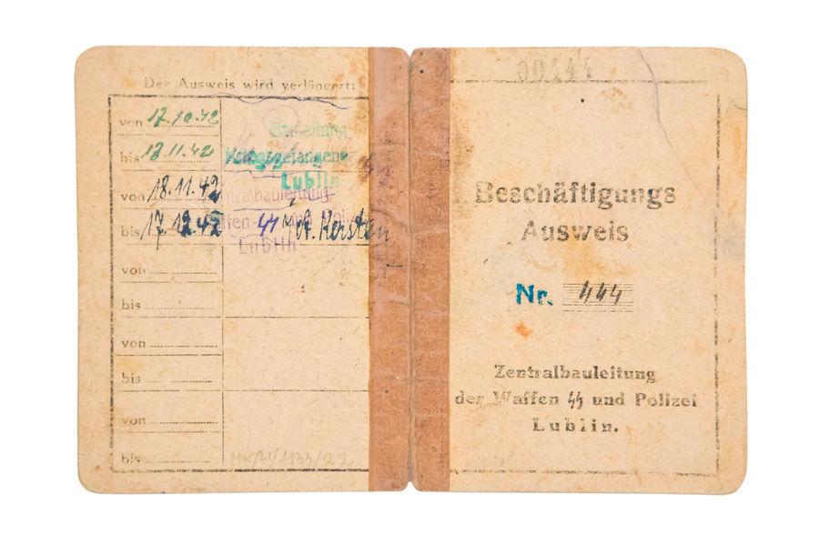 Dokument – Beschäftegungs Ausweis