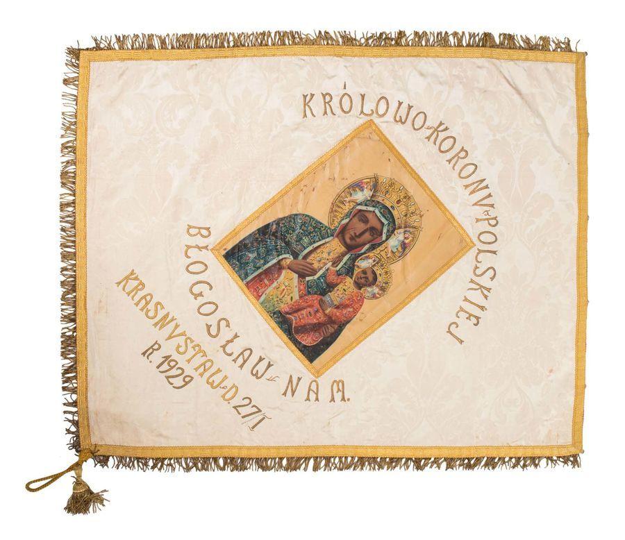Sztandar Narodowej Organizacji Kobiet w Krasnymstawie
