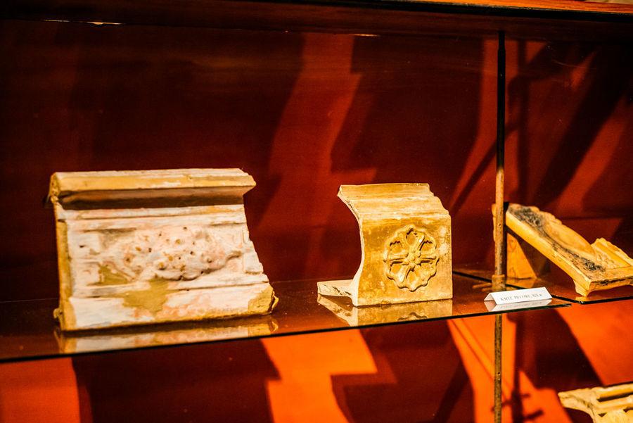 Eksponaty z wystawy