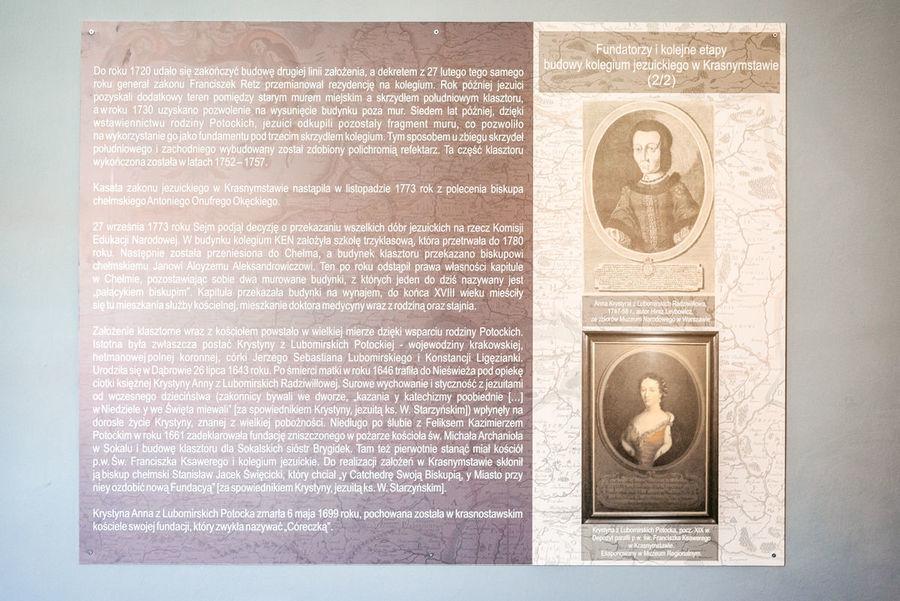 Eksponaty z wystawy Tablica informacyjna