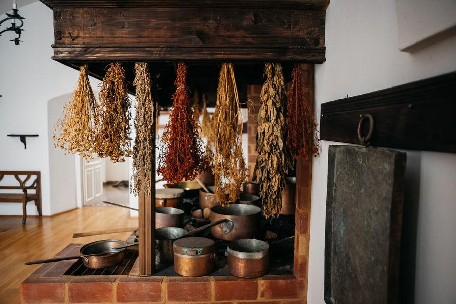 Suszone zioła w kuchnii