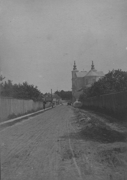 [MK/H/1695/003] Ulica Piłsudskiego w Krasnymstawie 1914-1915 r.