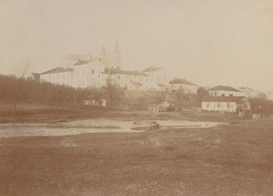 [MK/H/657/031] Widok Krasnegostawu od strony płd.,Krasnystaw, 1916 r.