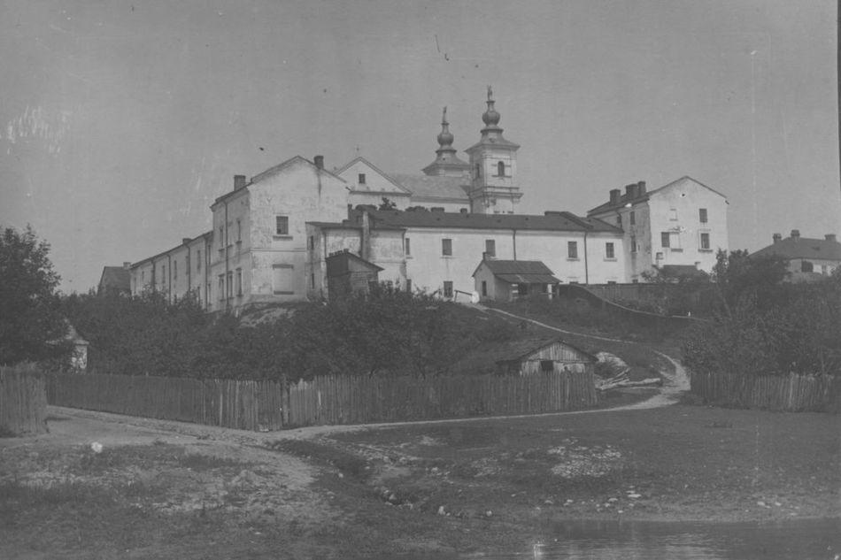 [MK/H/1695/005] Widok na zespół pojezuicki Krasnystaw, 1914 -1915 r.