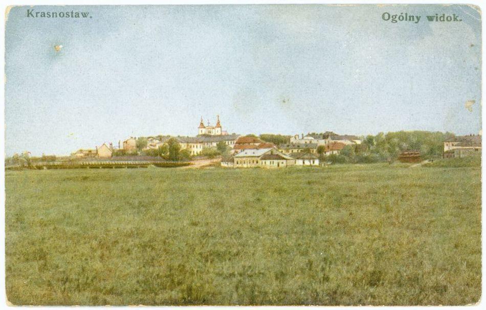[MK/H/1037] Krasnystaw widok ogólny 1919 r.