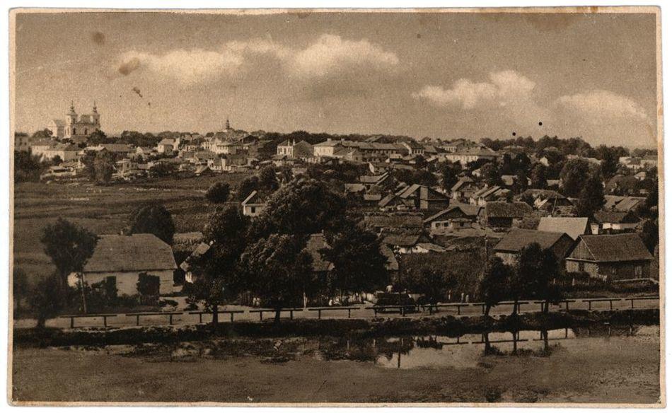 [MK/H/1641] Widok z Kopca Wdzięczności, ok. 1930 r.