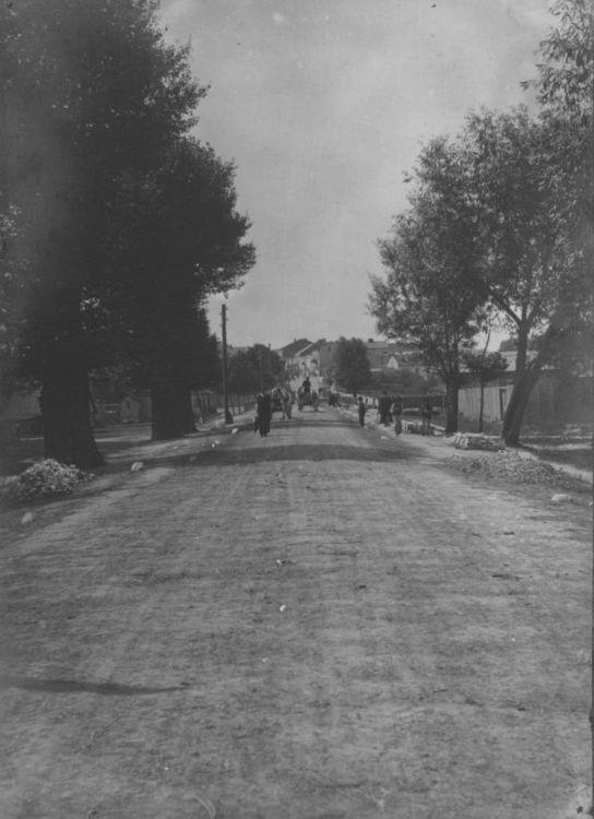 [MK/H/1695/002] Ulica Mostowa w Krasnymstawie. 1914-1915 r.