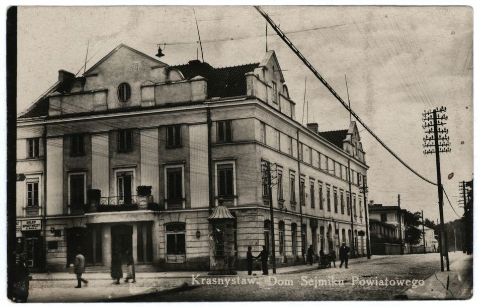 [MK/H/794] Krasnystaw. Dom Sejmiku Powiatowego