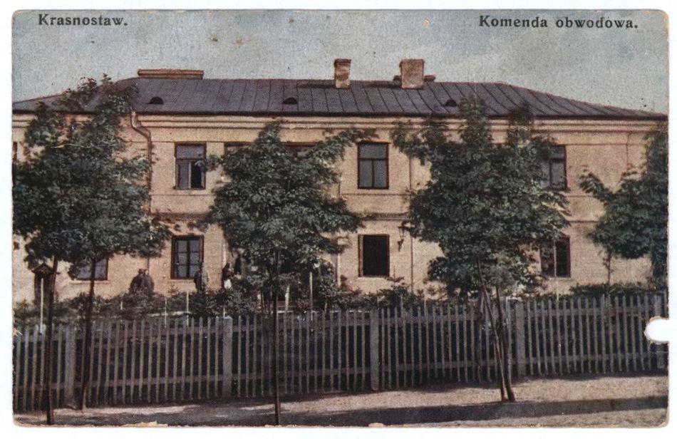[MK/H/1640] Krasnystaw. Komenda Obwodowa. 1930 r.