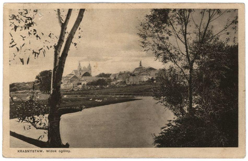 [MK/H/265] Krasnystaw. Widok ogólny. 1933 r.