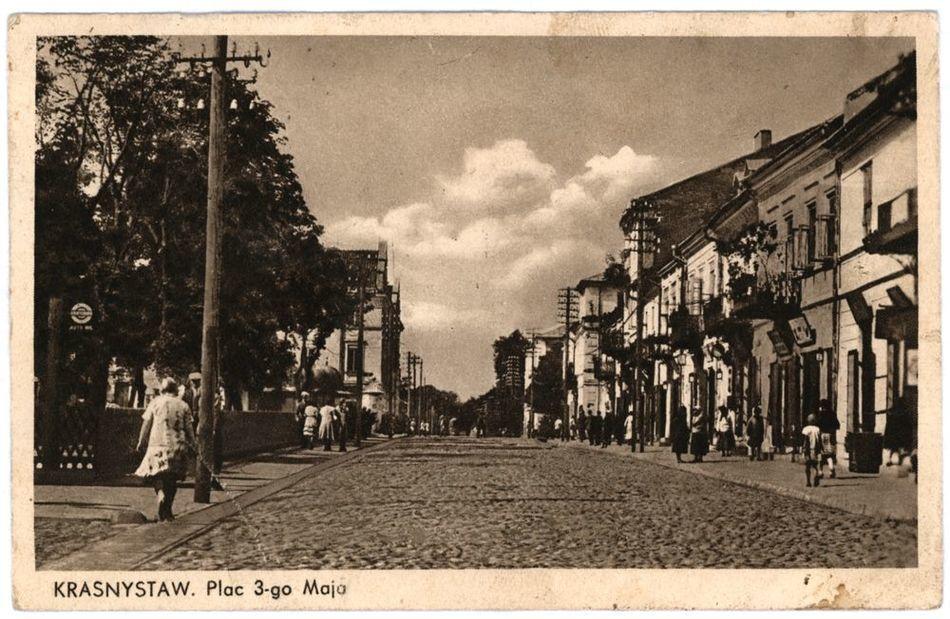 [MK/H/1333] Krasnystaw. Plac 3-go Maja. 1937 r.