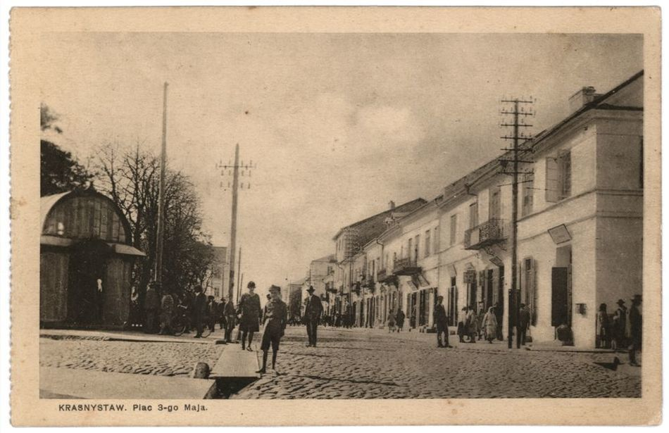 [MK/H/1643] Krasnystaw. Plac 3-go Maja