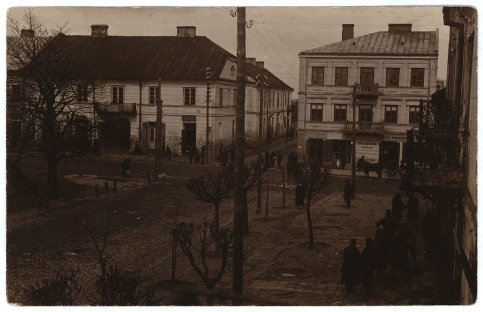 [MK/H/251] Krasnystaw. Plac 3-go Maja. 1916 r.