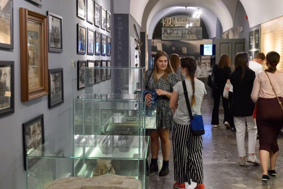 Nocne zwiedzanie muzeum