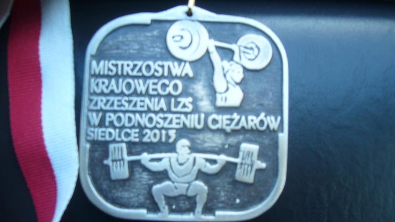 Srebrny medal na Mistrzostwach Polski