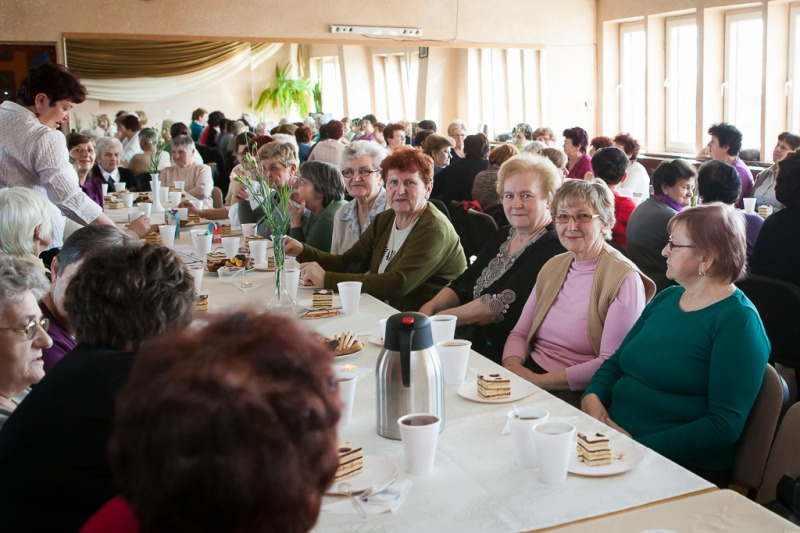 Spotkanie Klubu Seniora w Gminnym Ośrodku Kultury