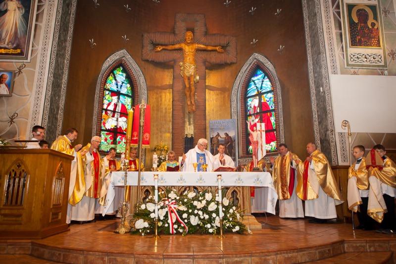 Jubileusz 25-lecia parafii w Nasutowie