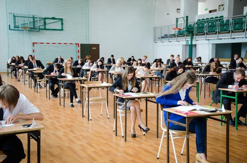 Egzamin maturalny w naszej gminie