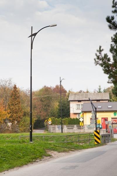 Budowa oświetlenia przy drodze gminnej nr 106093 L i drodze zlokalizowanej na działce 235 w m. Dys