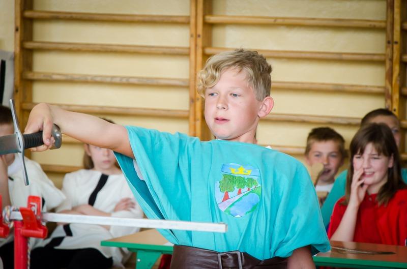 II Gminny Turniej Rycerski klas piątych