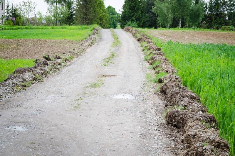 Droga gminna w Boduszynie na działce nr 36