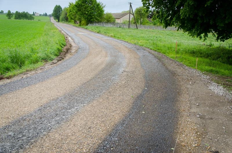 Droga gminna nr 106034L w Nasutowie