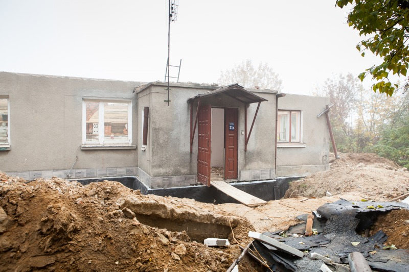 Przebudowa budynku świetlicy w m. Elizówka