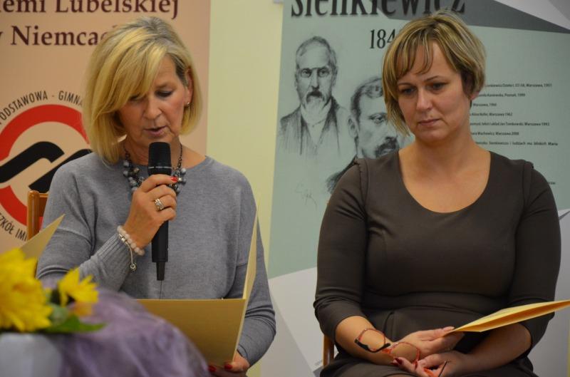 Gminne Czytanie Quo Vadis - fot: ZS Niemce