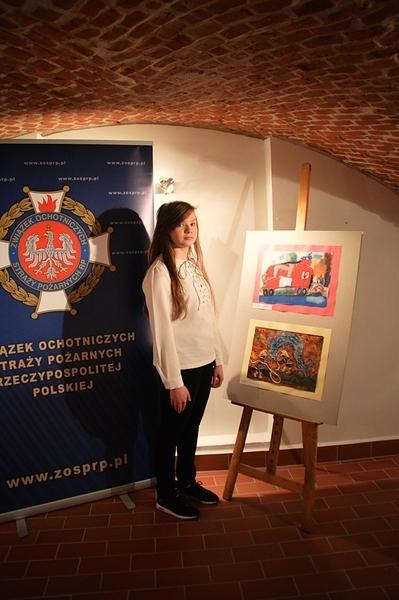 Kamila Guz laureatką Ogólnopolskiego Konkursu Plastycznego