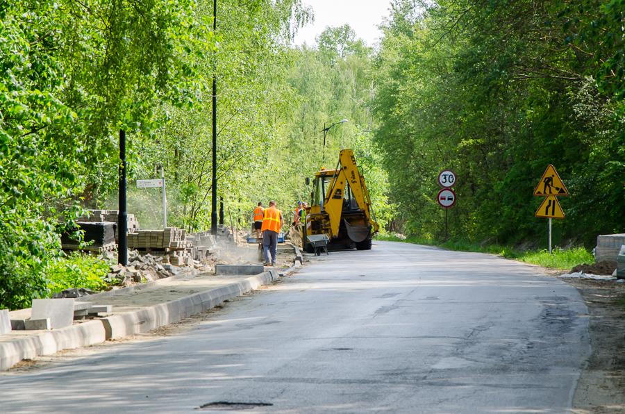 Przebudowa dróg powiatowych
