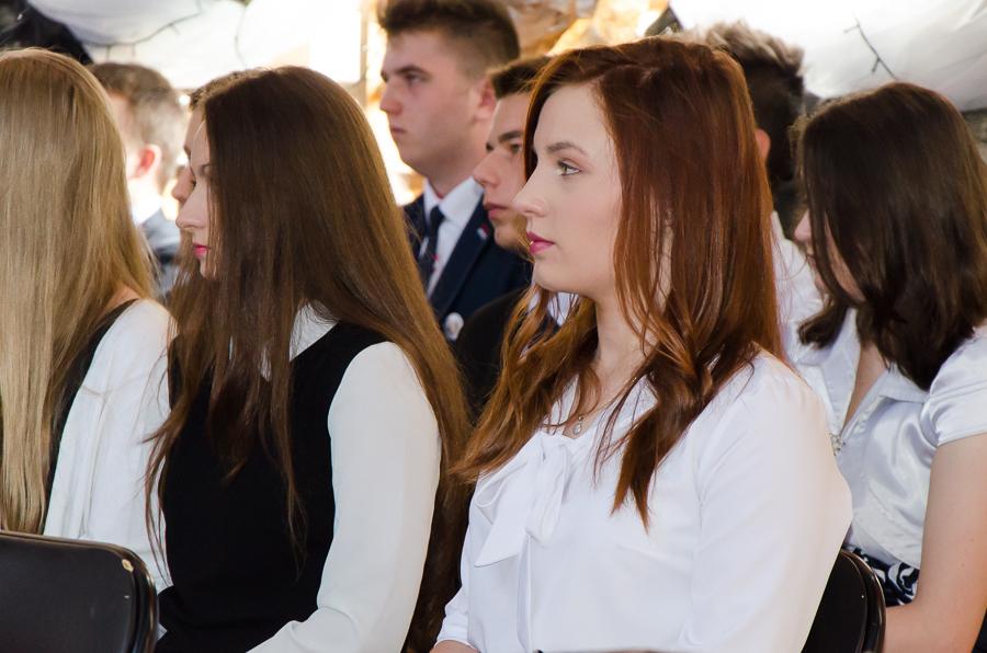 Zakończenie roku szkolnego 2016/2017 dla gimnazjalistów w Krasienine
