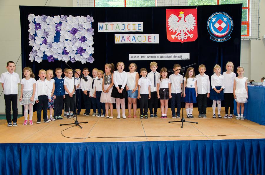 Zakończenie roku szkolnego 2016/2017 w Dysie